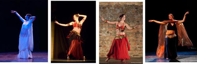 Spettacoli di danza orientale con Novella Bianchi - foto di Giorgio Santonastaso