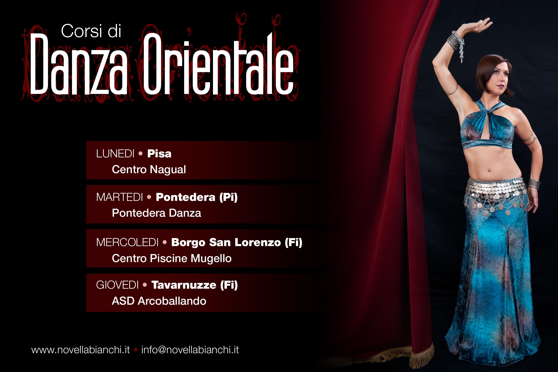 Corsi danza orientale con Novella Bianchi